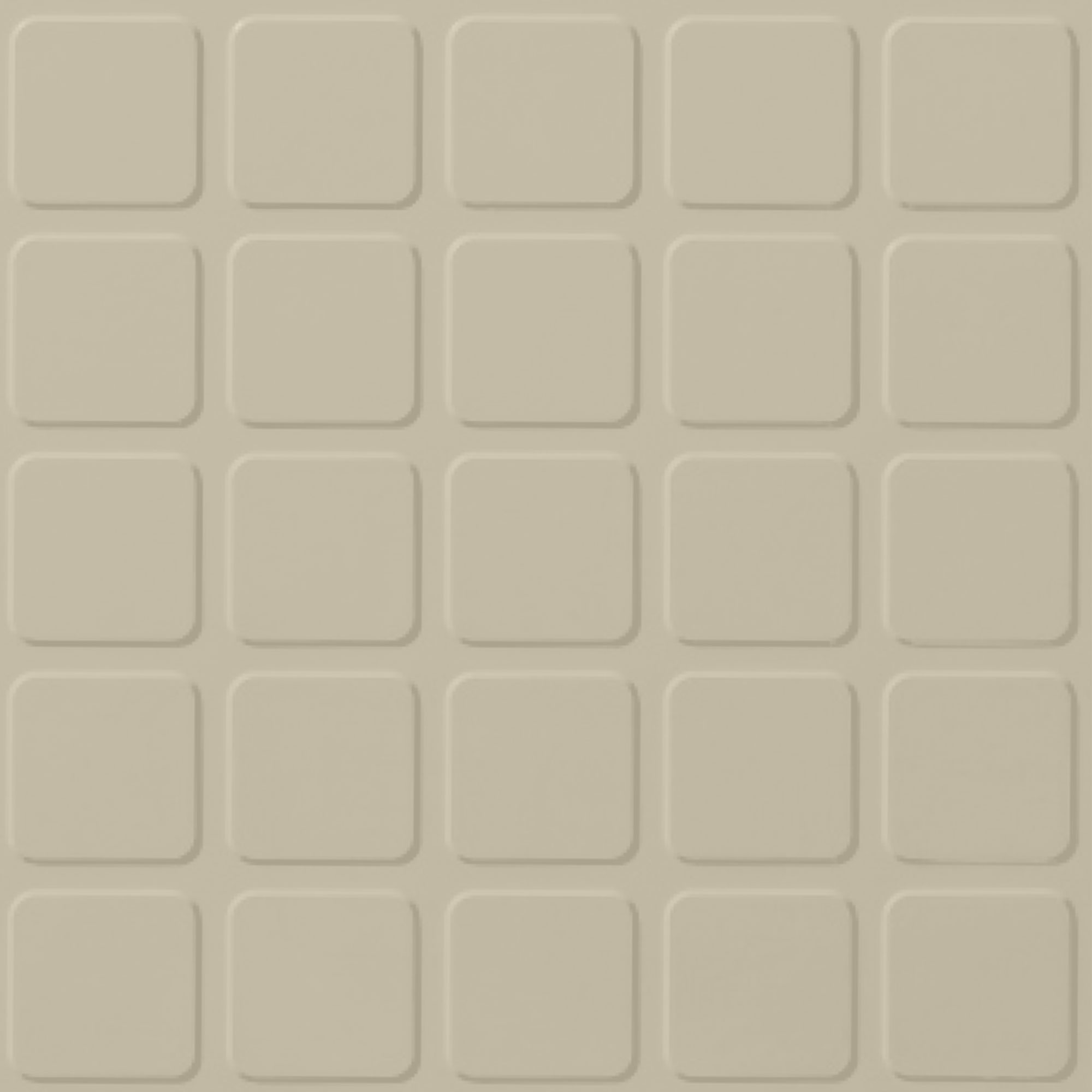 Roppe Rubber Design Treads - Raised Square Design Almond 184