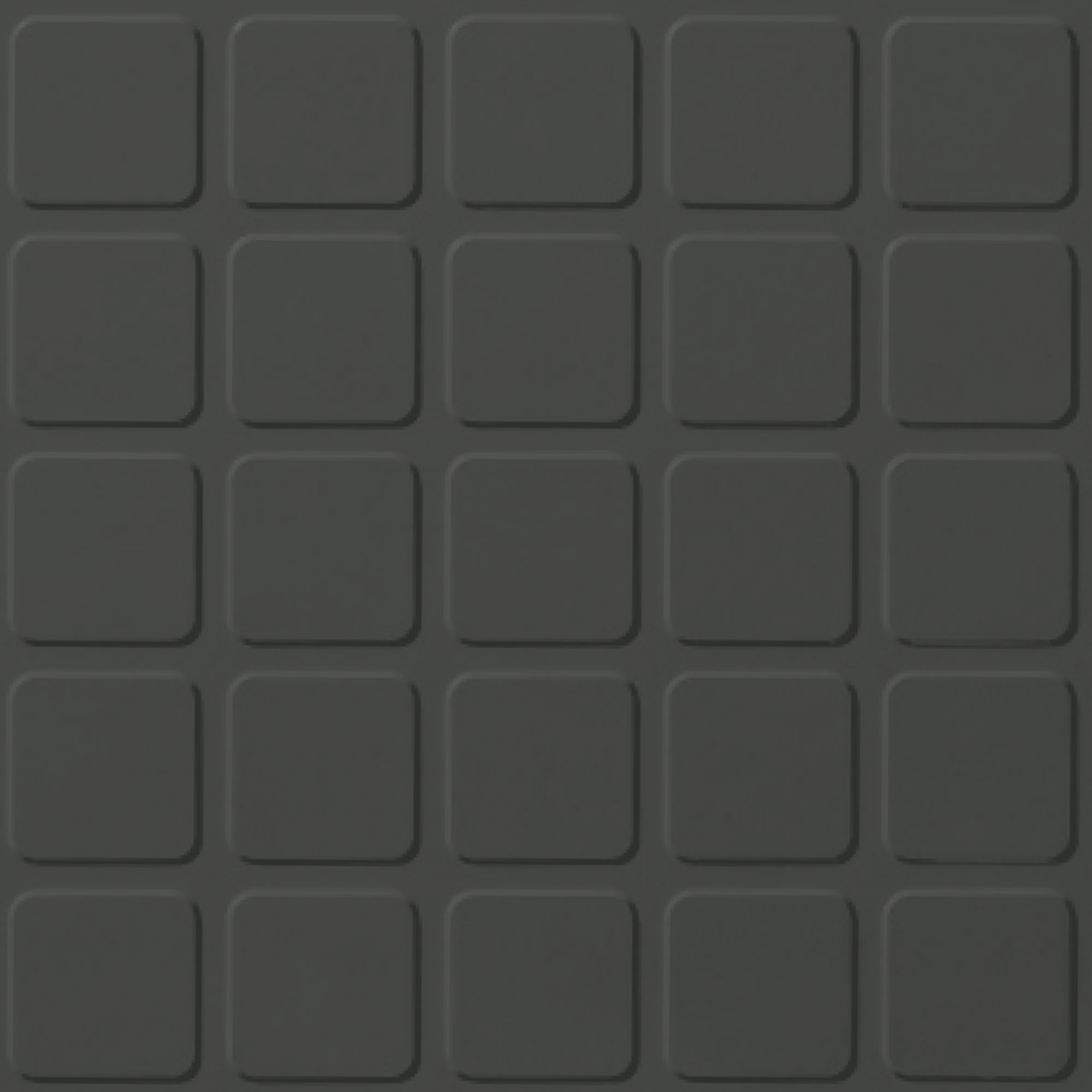 Roppe Rubber Design Treads - Raised Square Design Black Brown 193