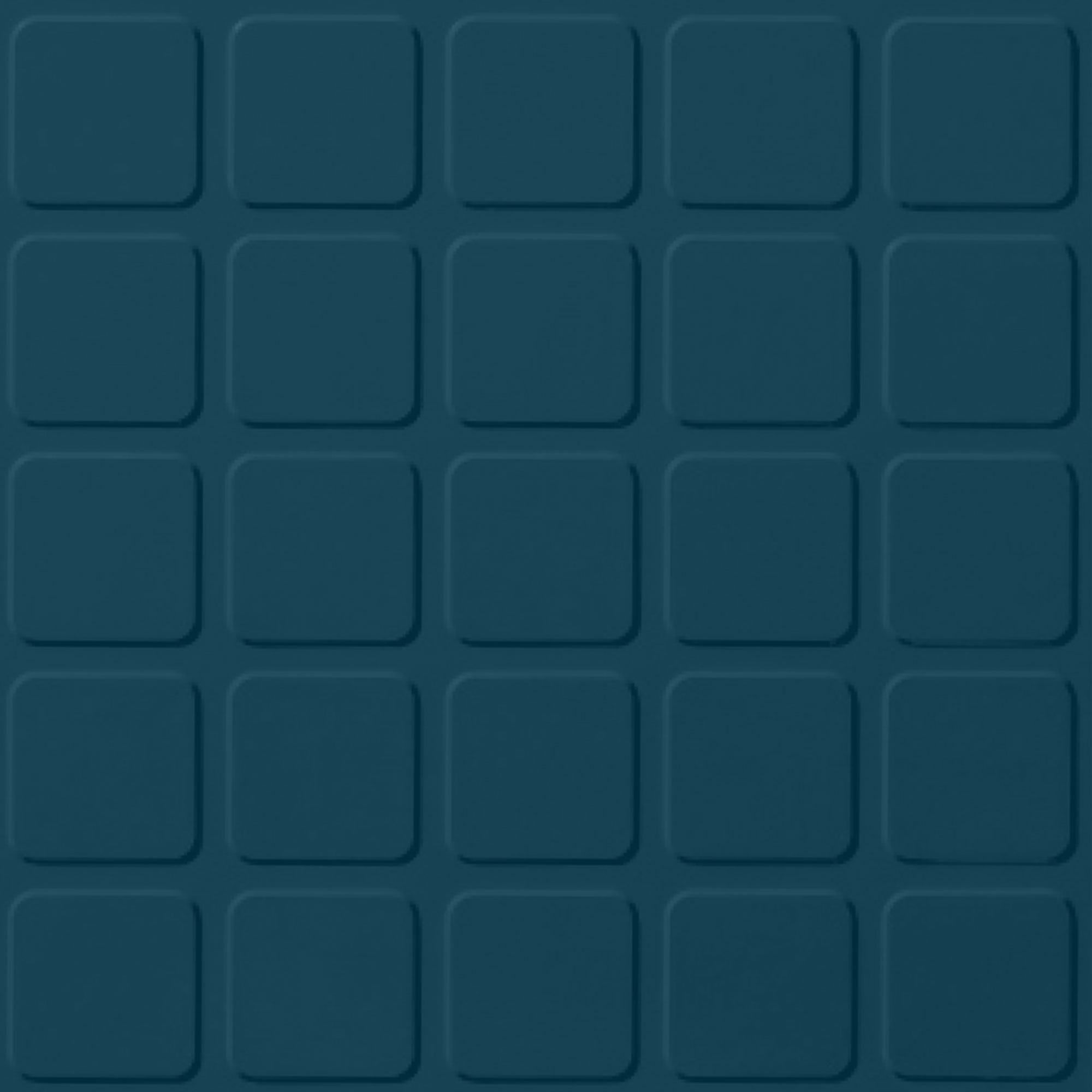 Roppe Rubber Design Treads - Raised Square Design Blue 187