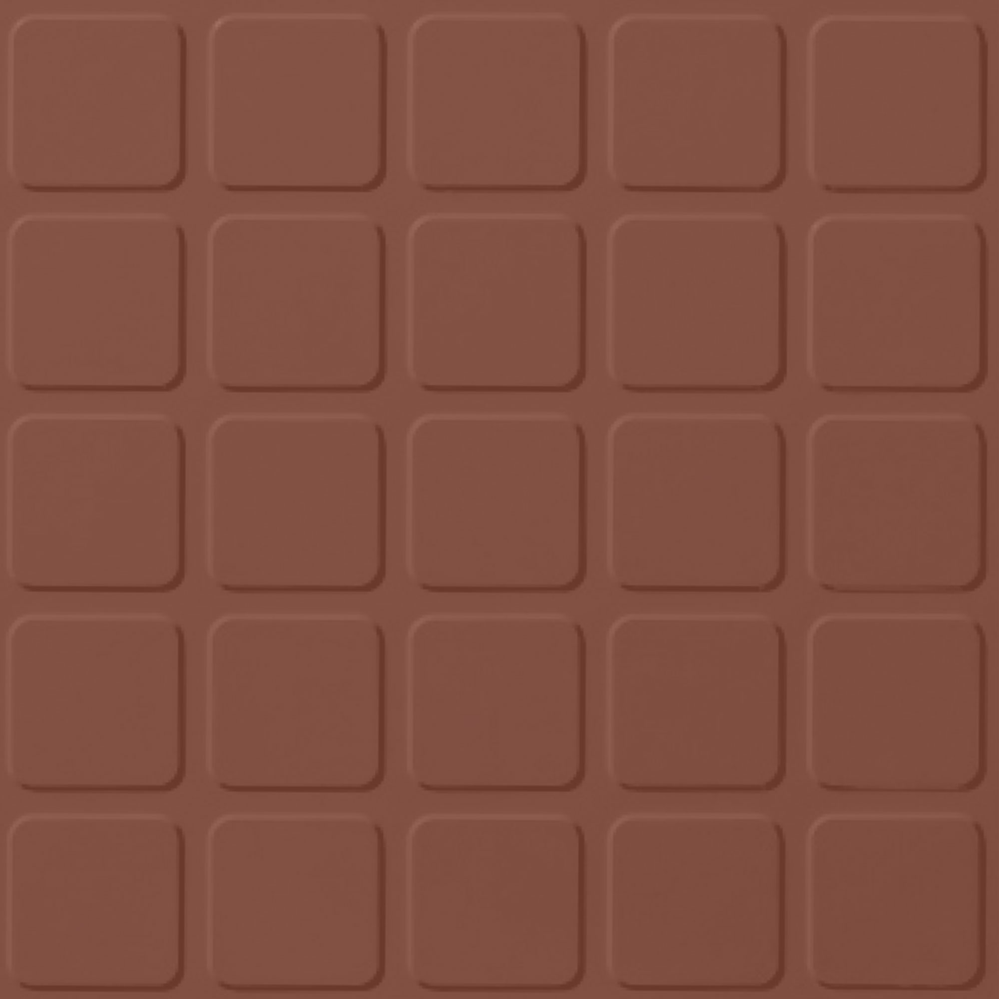Roppe Rubber Design Treads - Raised Square Design Brick 188
