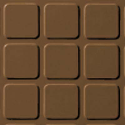 Roppe Rubber Design Treads - Raised Square Design Bronze 625