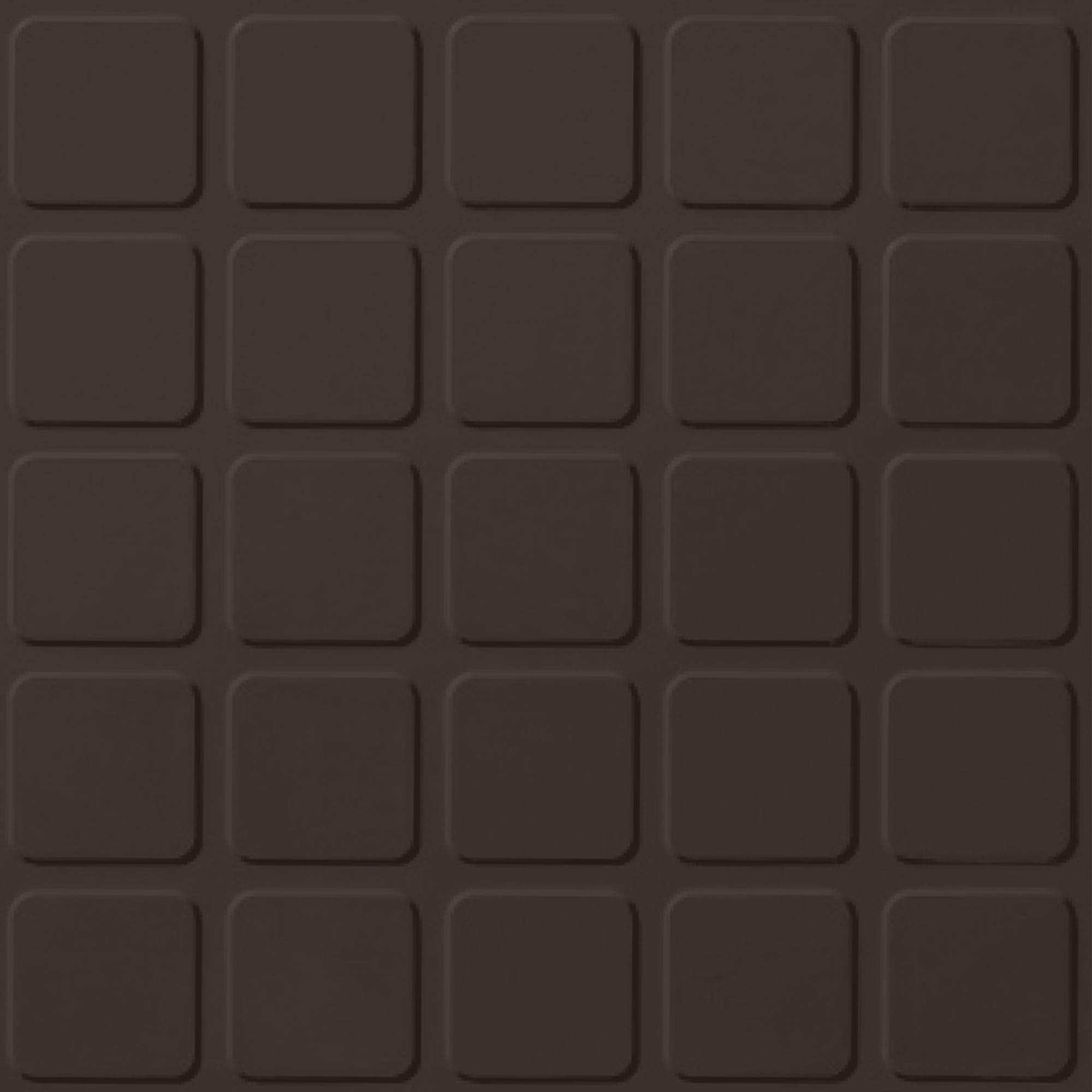 Roppe Rubber Design Treads - Raised Square Design Brown 110
