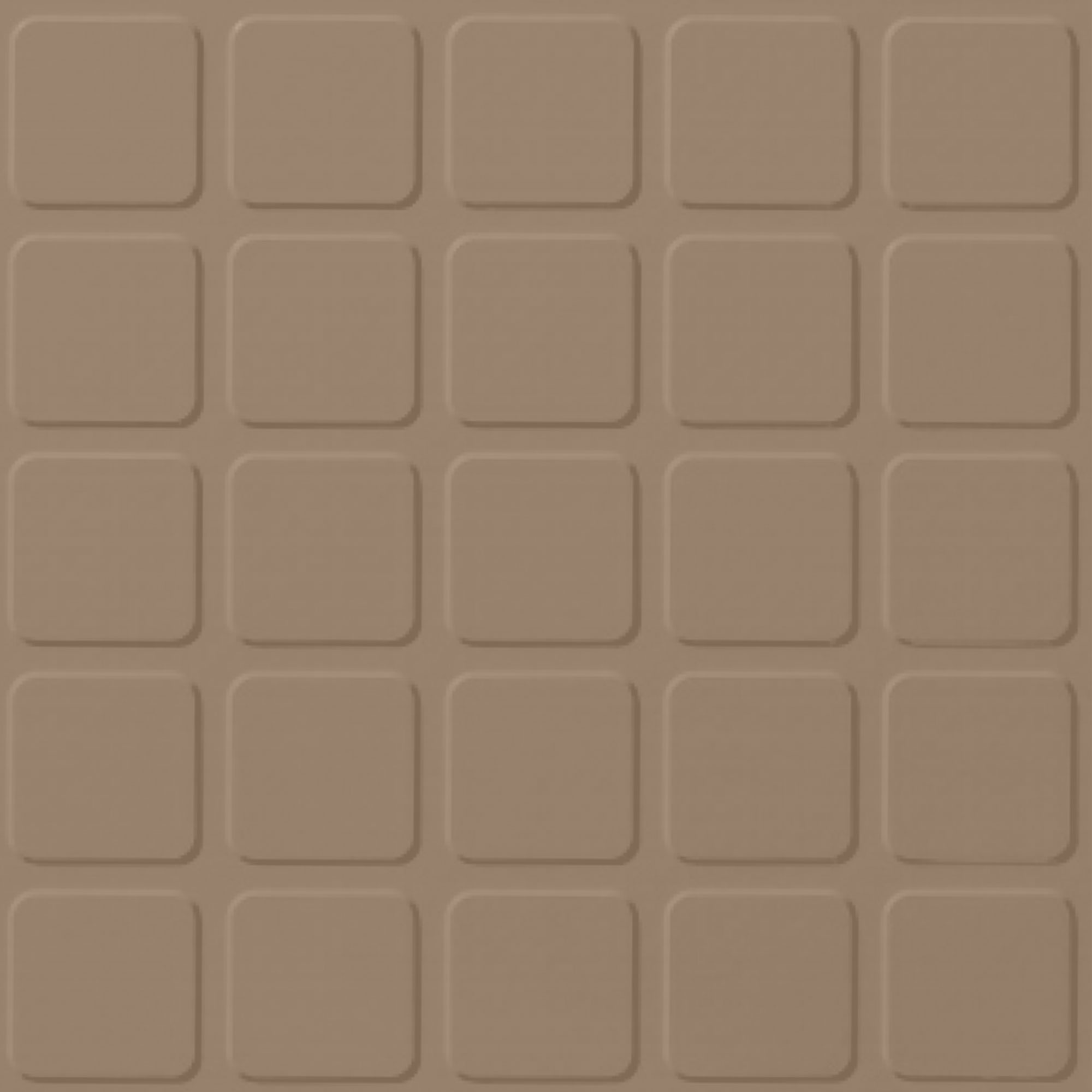 Roppe Rubber Design Treads - Raised Square Design Buckskin 130