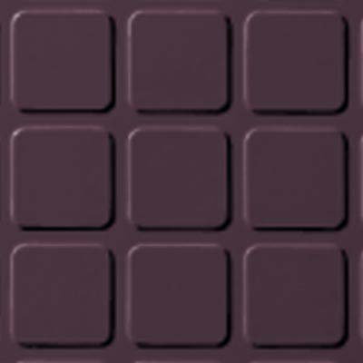 Roppe Rubber Design Treads - Raised Square Design Burgundy 185