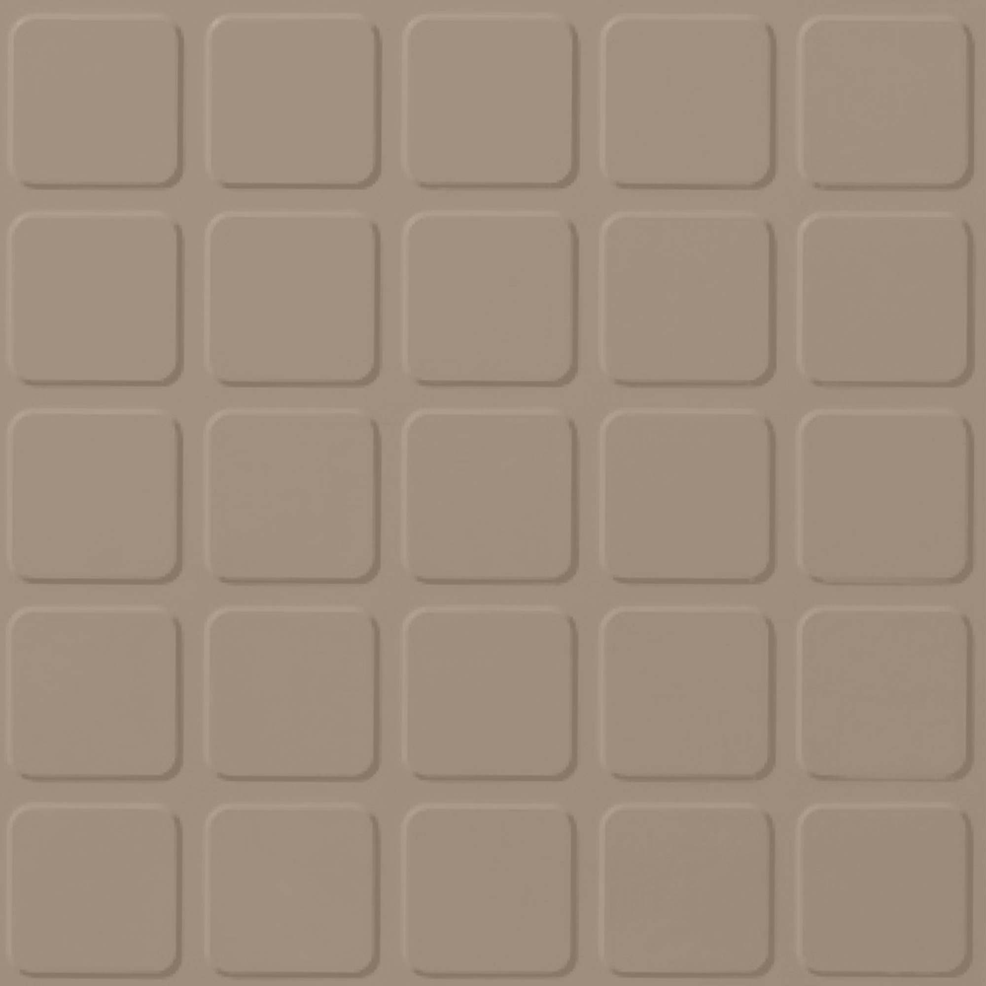 Roppe Rubber Design Treads - Raised Square Design Camel 191