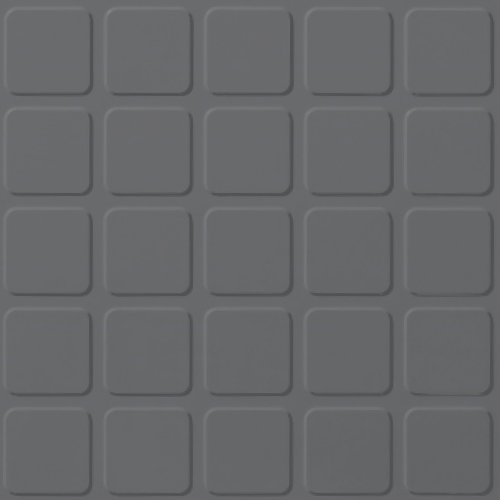 Roppe Rubber Design Treads - Raised Square Design Charcoal 123