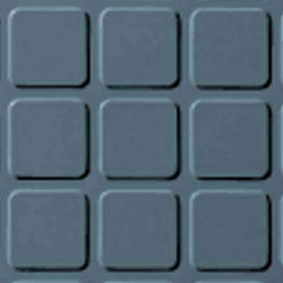 Roppe Rubber Design Treads - Raised Square Design Colonial Blue 165