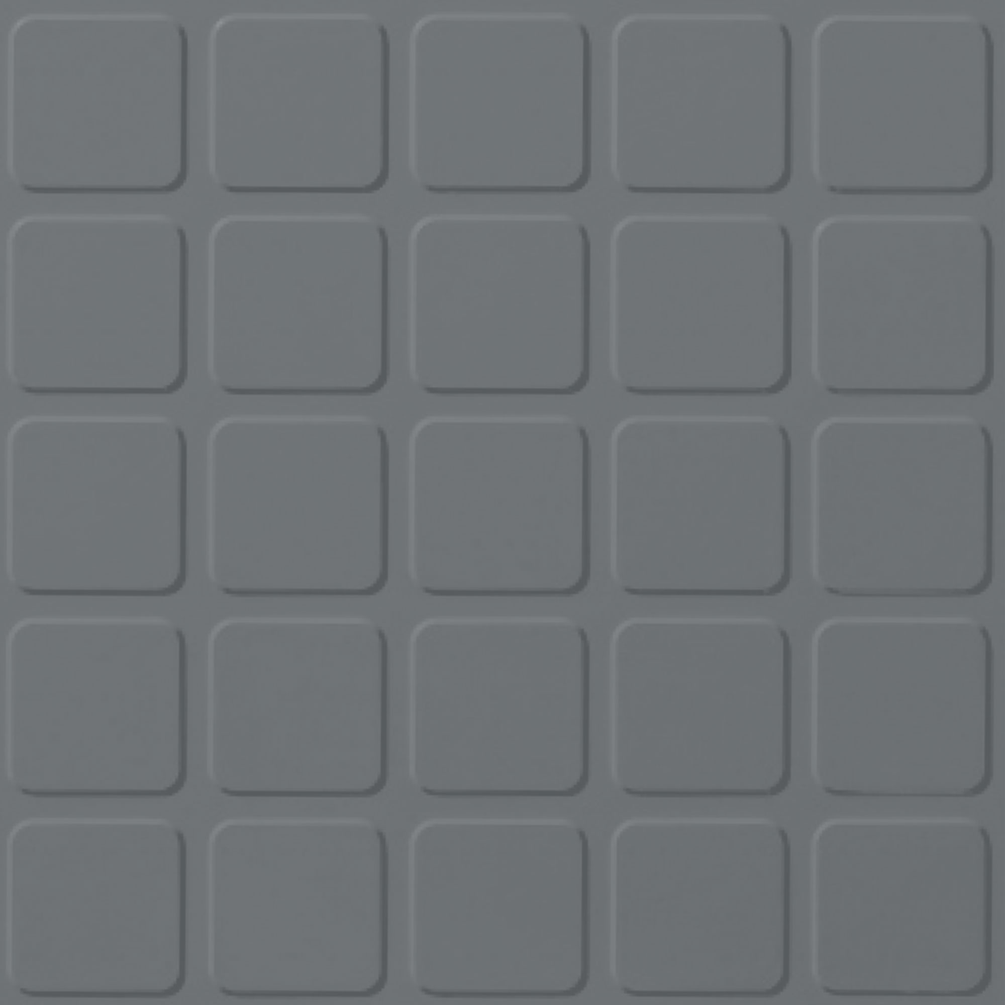 Roppe Rubber Design Treads - Raised Square Design Dark Gray 150
