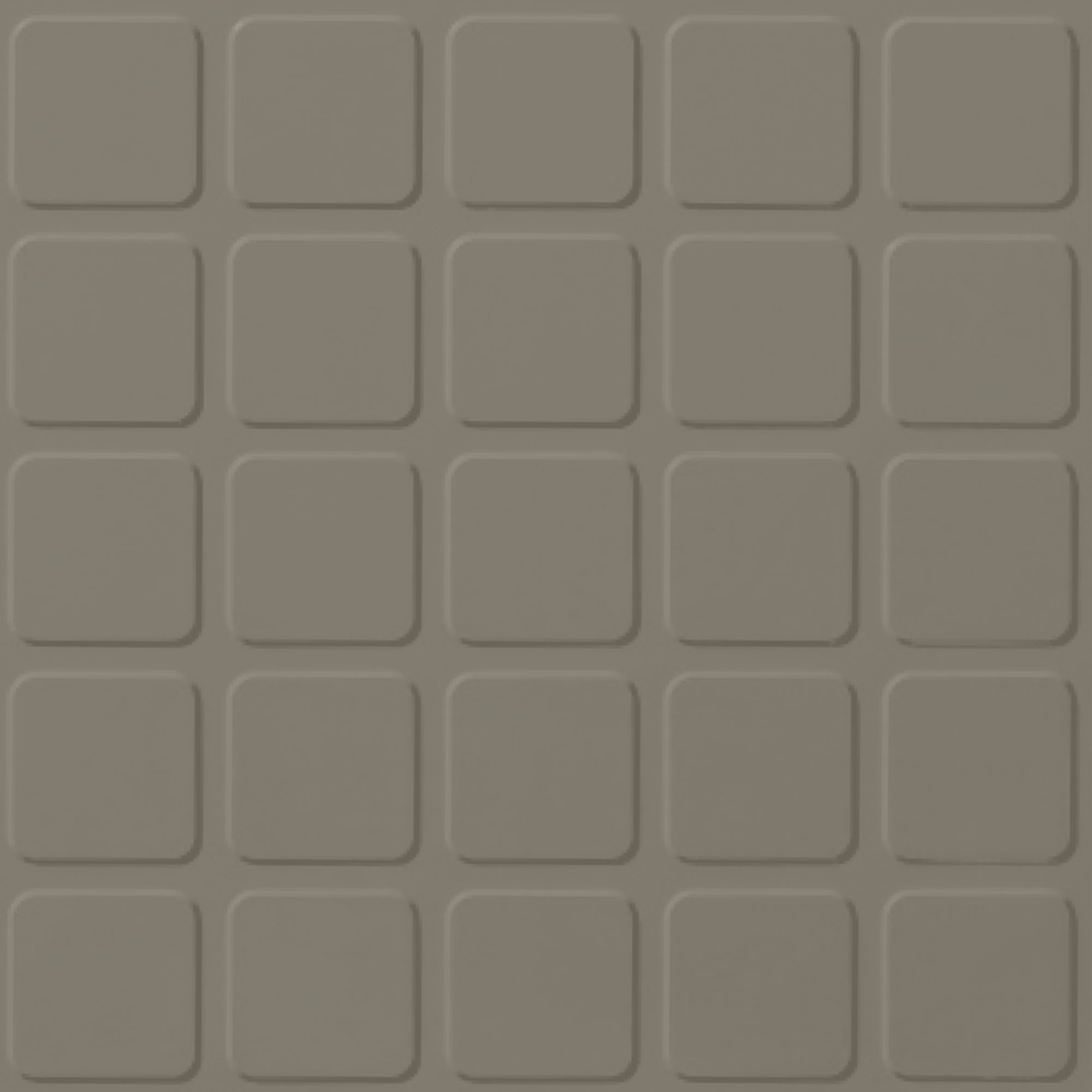 Roppe Rubber Design Treads - Raised Square Design Dolphin 129