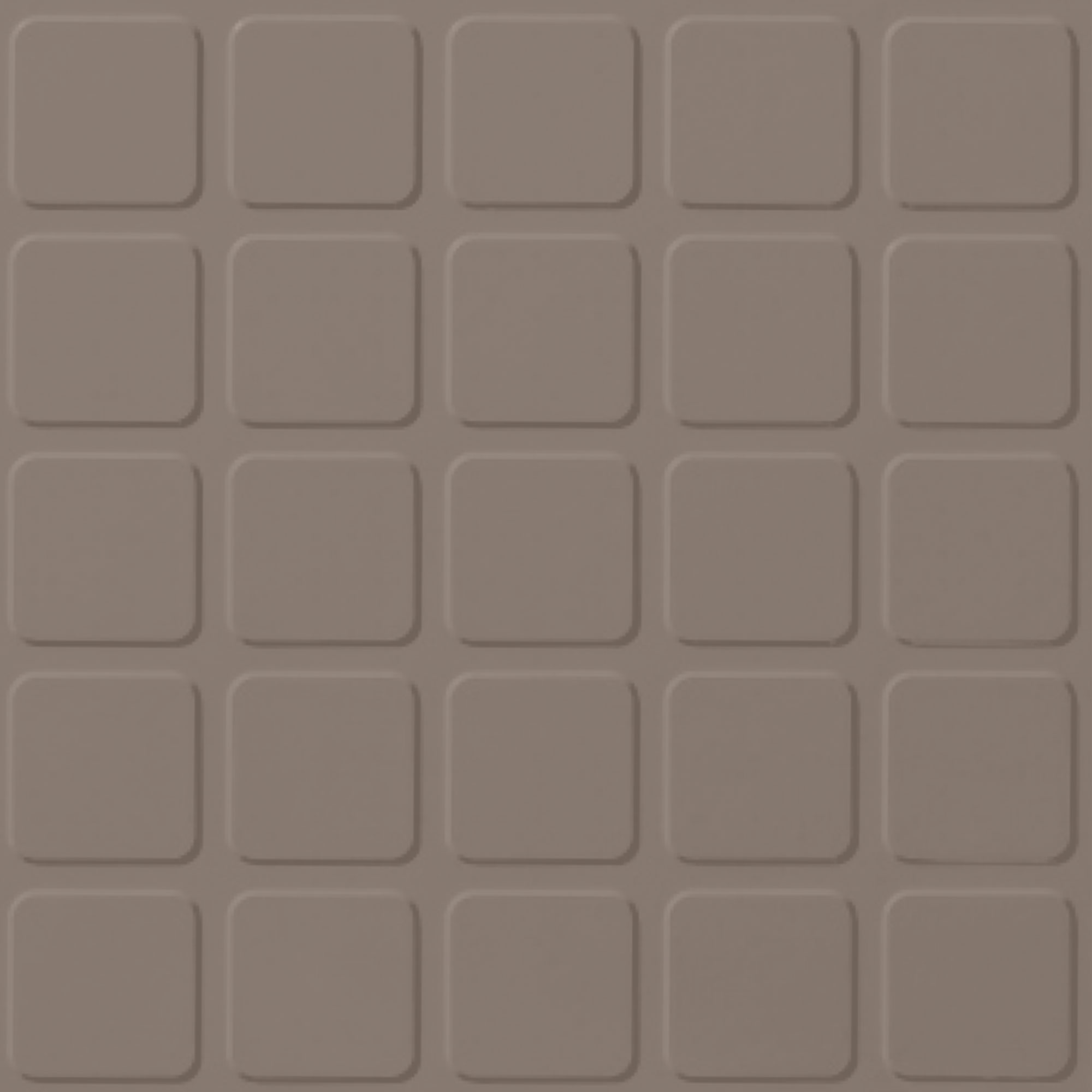 Roppe Rubber Design Treads - Raised Square Design Fawn 140