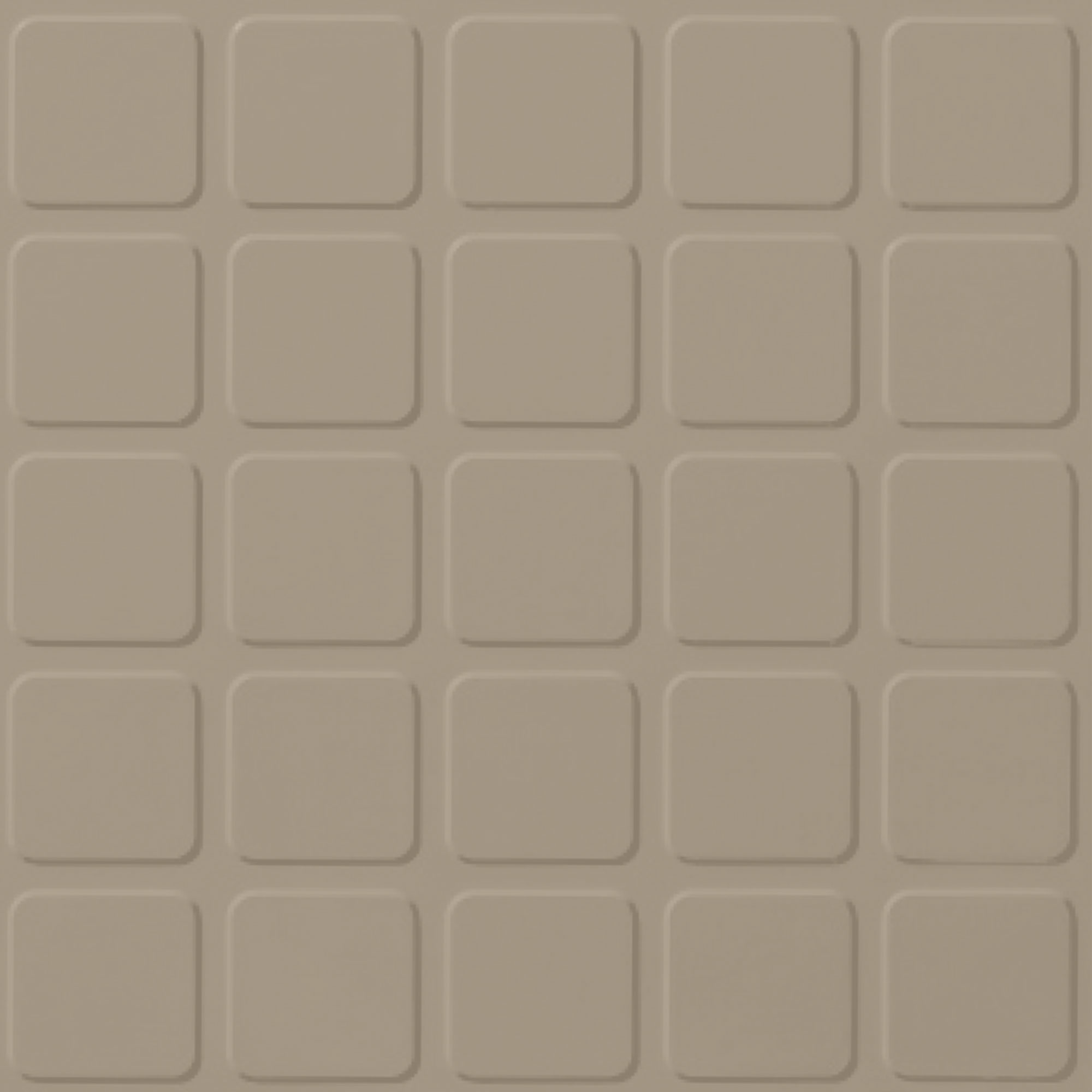 Roppe Rubber Design Treads - Raised Square Design Flax 632