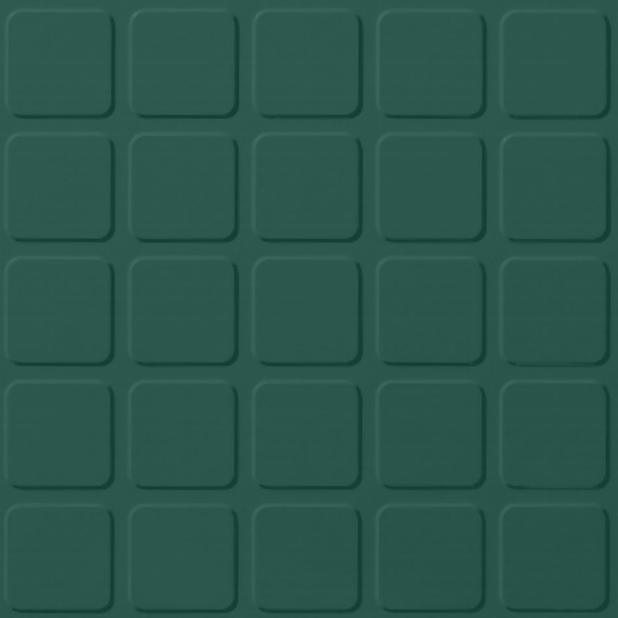 Roppe Rubber Design Treads - Raised Square Design Forest Green 160