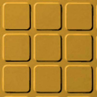 Roppe Rubber Design Treads - Raised Square Design Golden 629