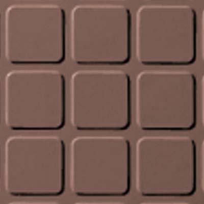 Roppe Rubber Design Treads - Raised Square Design Goldenhoney 133