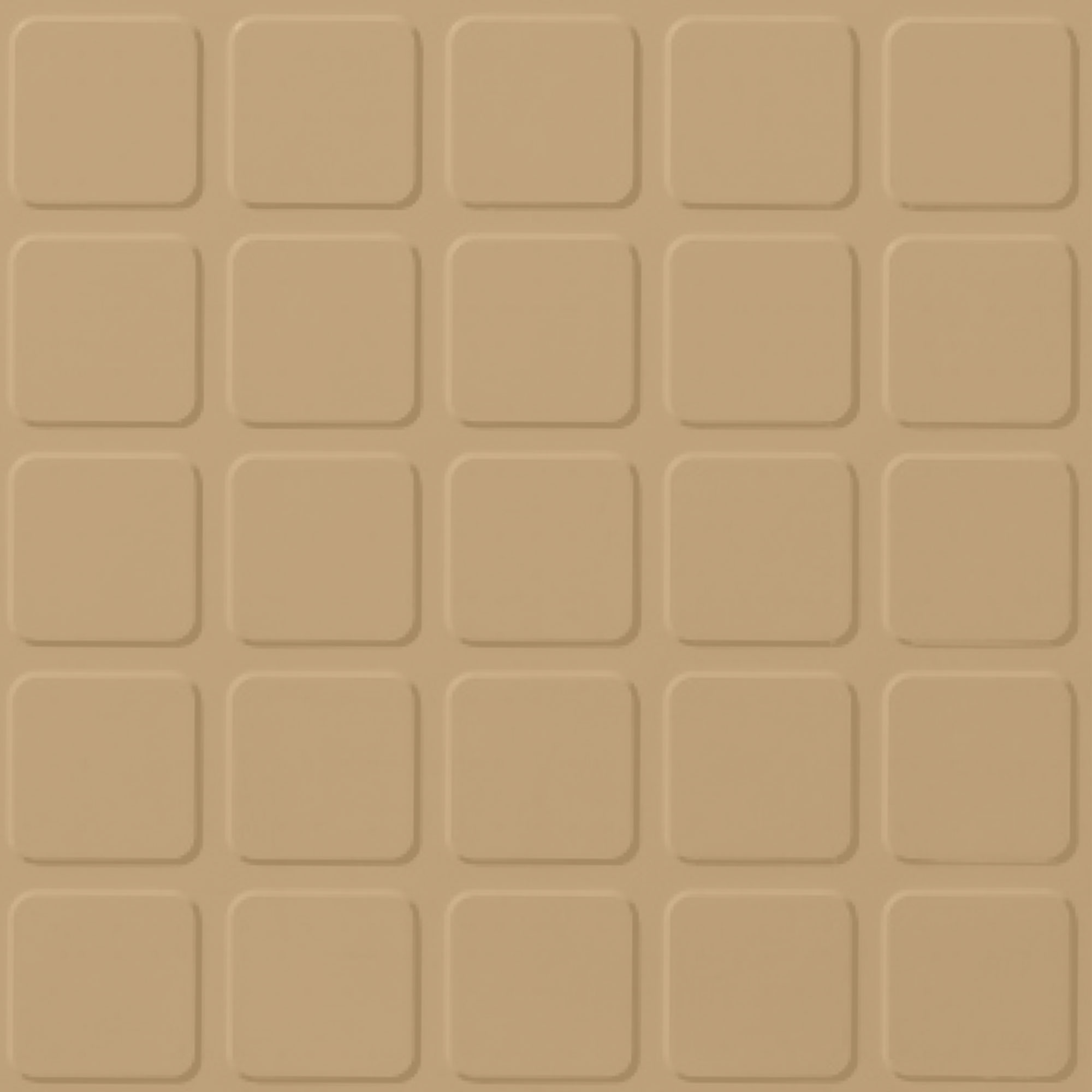 Roppe Rubber Design Treads - Raised Square Design Harvest Yellow 127