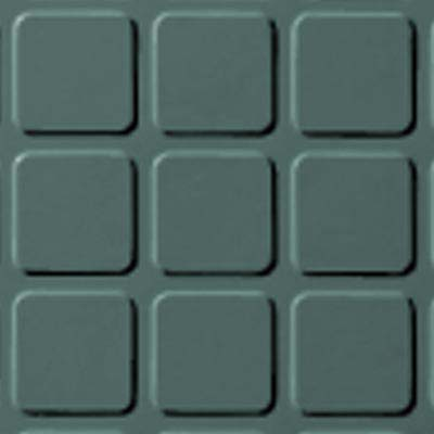 Roppe Rubber Design Treads - Raised Square Design Hunter Green 169