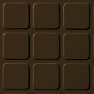 Roppe Rubber Design Treads - Raised Square Design Java 619