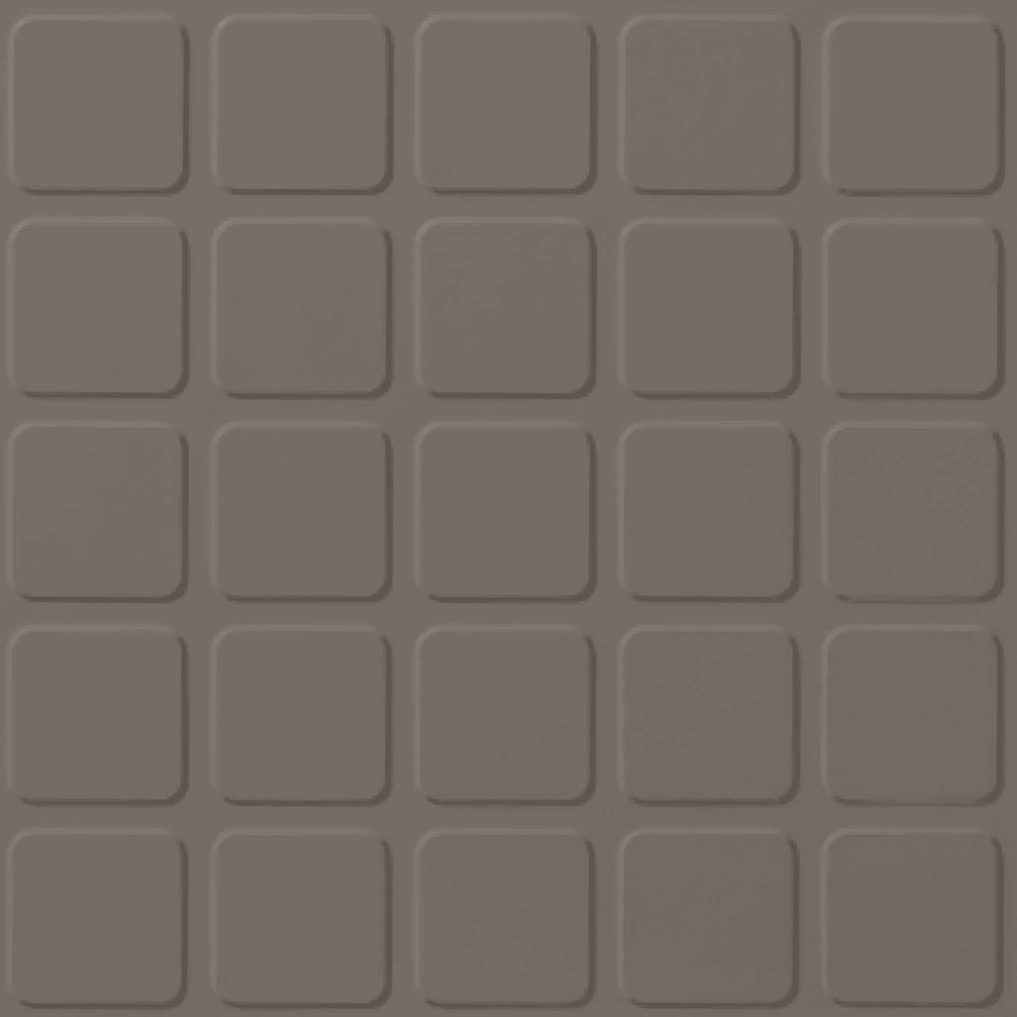 Roppe Rubber Design Treads - Raised Square Design Lunar Dust 114