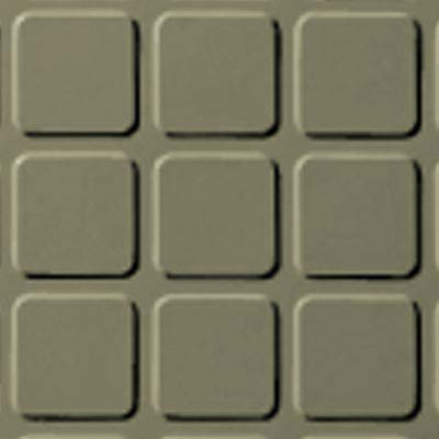Roppe Rubber Design Treads - Raised Square Design Moss 116