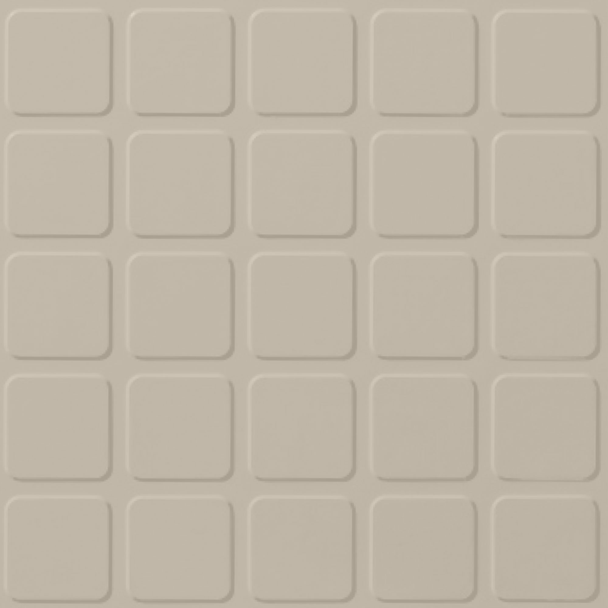 Roppe Rubber Design Treads - Raised Square Design Natural 122