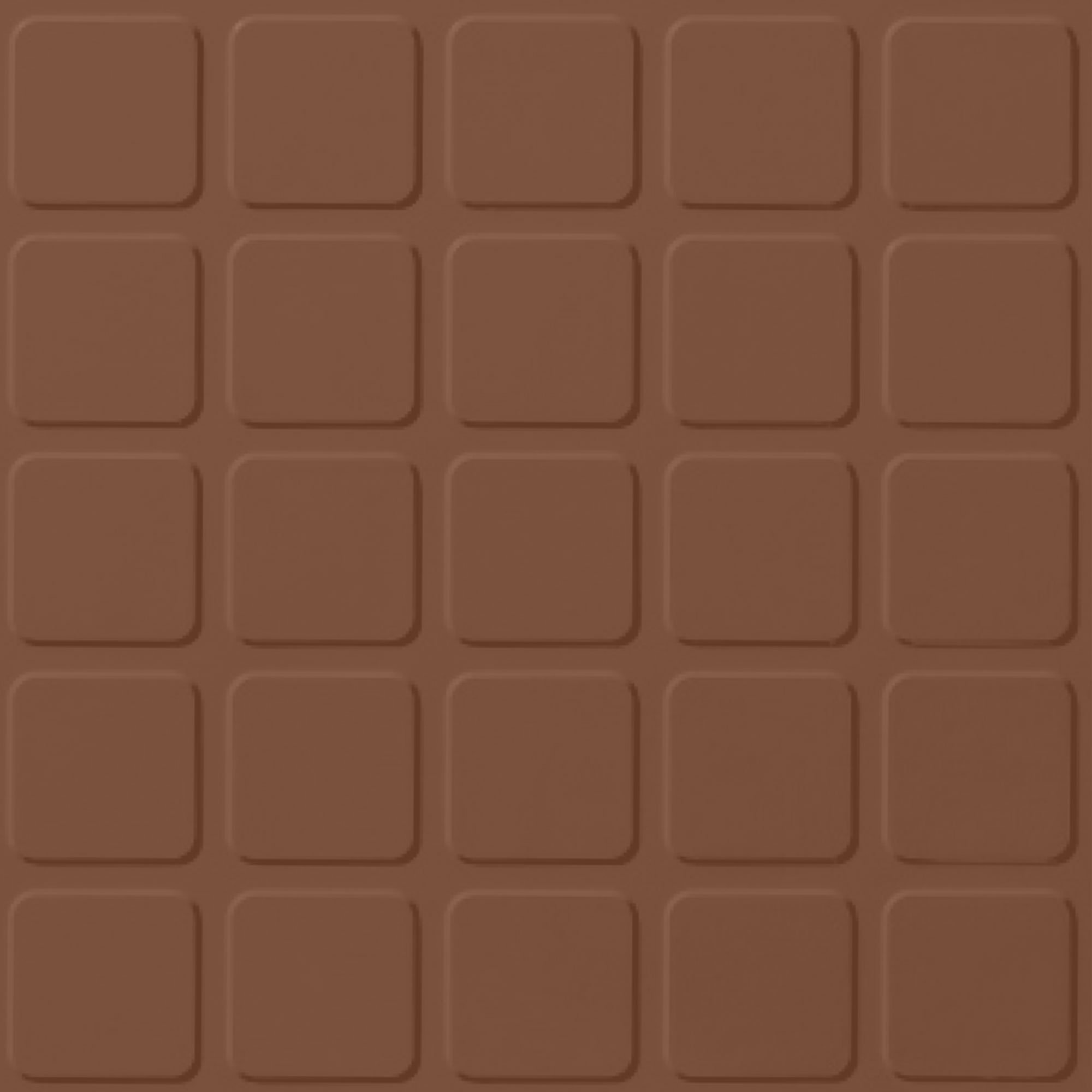 Roppe Rubber Design Treads - Raised Square Design Nutmeg 623