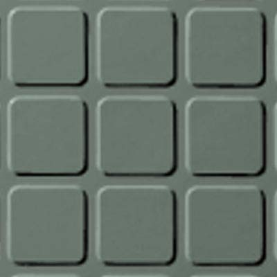 Roppe Rubber Design Treads - Raised Square Design Pistachio 113