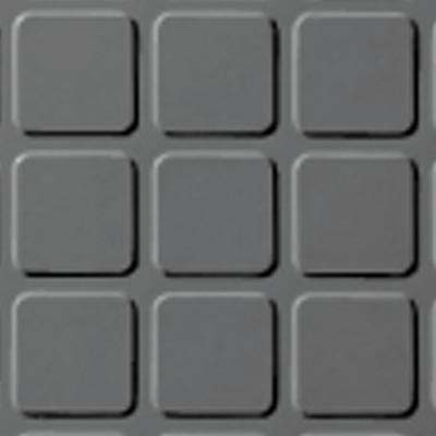 Roppe Rubber Design Treads - Raised Square Design Platinum 616