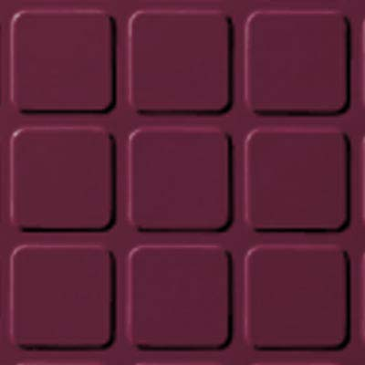 Roppe Rubber Design Treads - Raised Square Design Plum 620