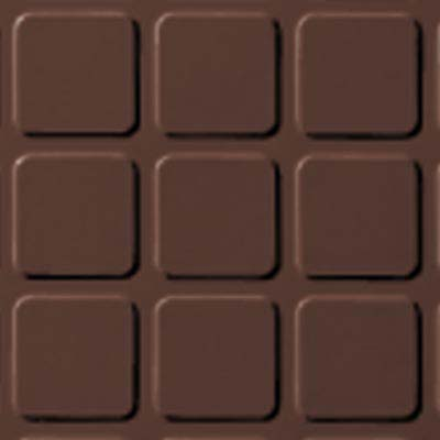 Roppe Rubber Design Treads - Raised Square Design Russet 181