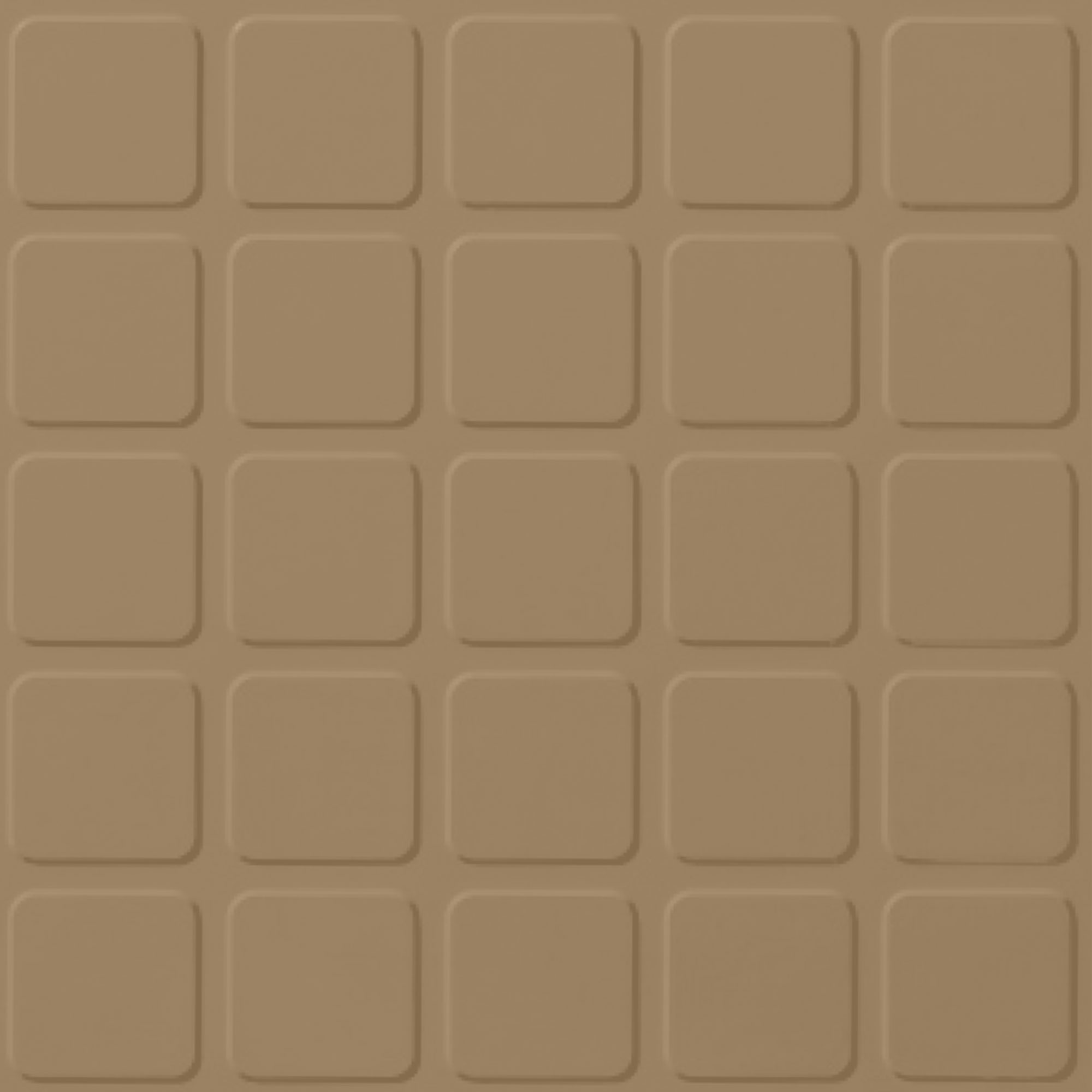 Roppe Rubber Design Treads - Raised Square Design Sahara 631