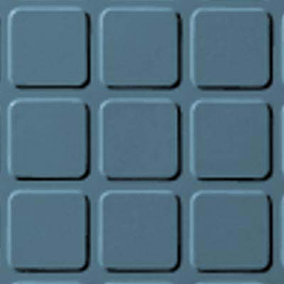 Roppe Rubber Design Treads - Raised Square Design Salem Blue 154