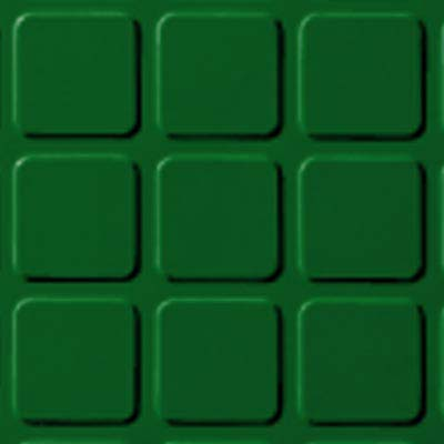Roppe Rubber Design Treads - Raised Square Design Shamrock 628