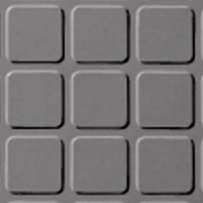 Roppe Rubber Design Treads - Raised Square Design Slate 175
