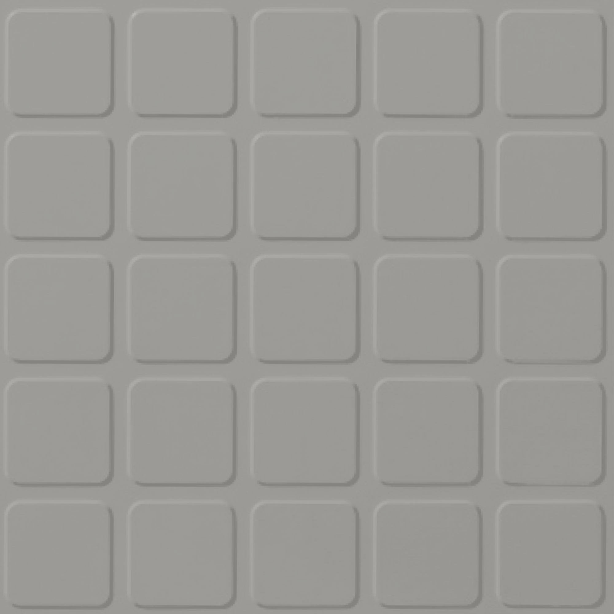 Roppe Rubber Design Treads - Raised Square Design Smoke 174