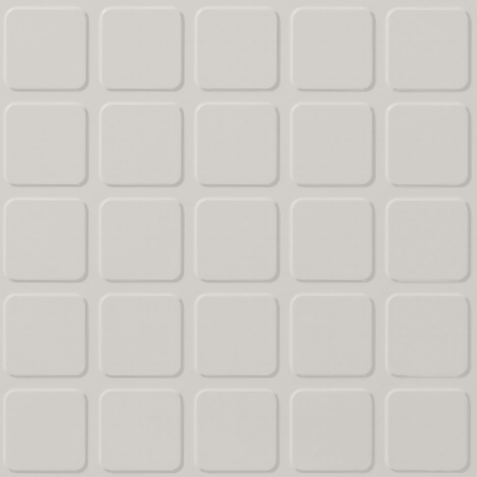 Roppe Rubber Design Treads - Raised Square Design Snow 161