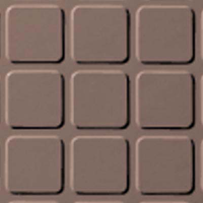 Roppe Rubber Design Treads - Raised Square Design Spice 167