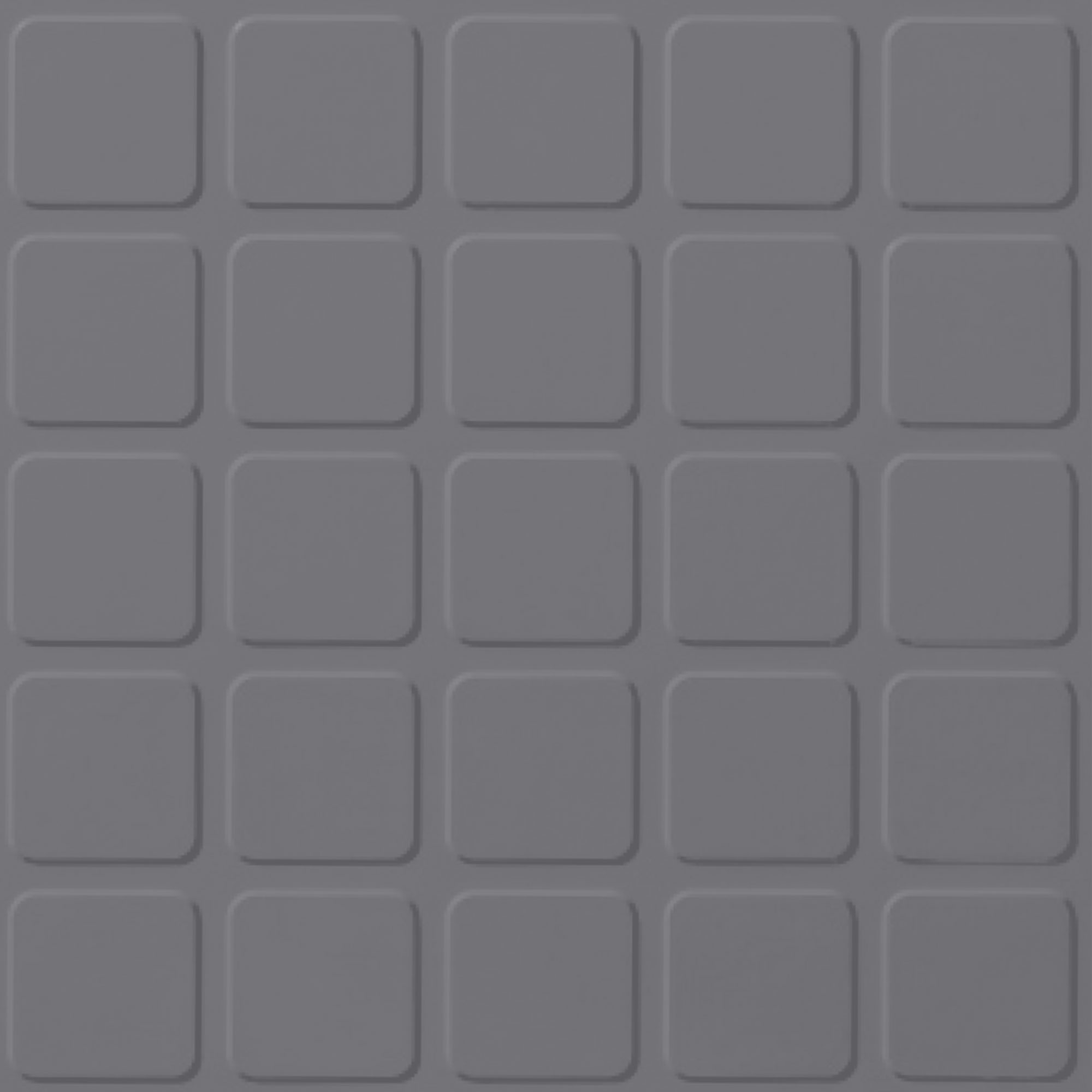 Roppe Rubber Design Treads - Raised Square Design Steel Gray 148