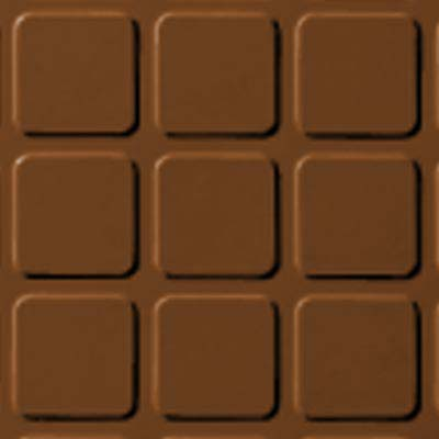 Roppe Rubber Design Treads - Raised Square Design Tan 120