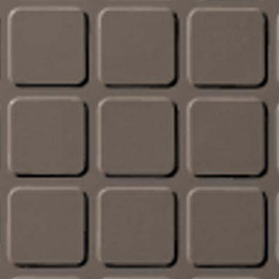 Roppe Rubber Design Treads - Raised Square Design Taupe 124