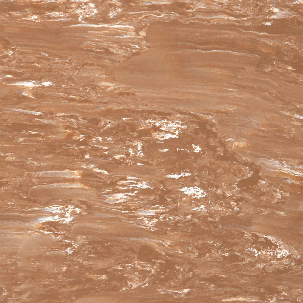 Roppe Smooth & Marbleized Rubber Tile 12 x 12 4.76mm (976 Smooth Design) Nutmeg