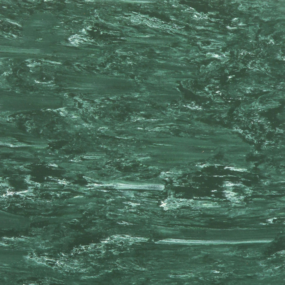 Roppe Smooth & Marbleized Rubber Tile 20 x 20 3.175mm (970 Smooth Design) Forest Green