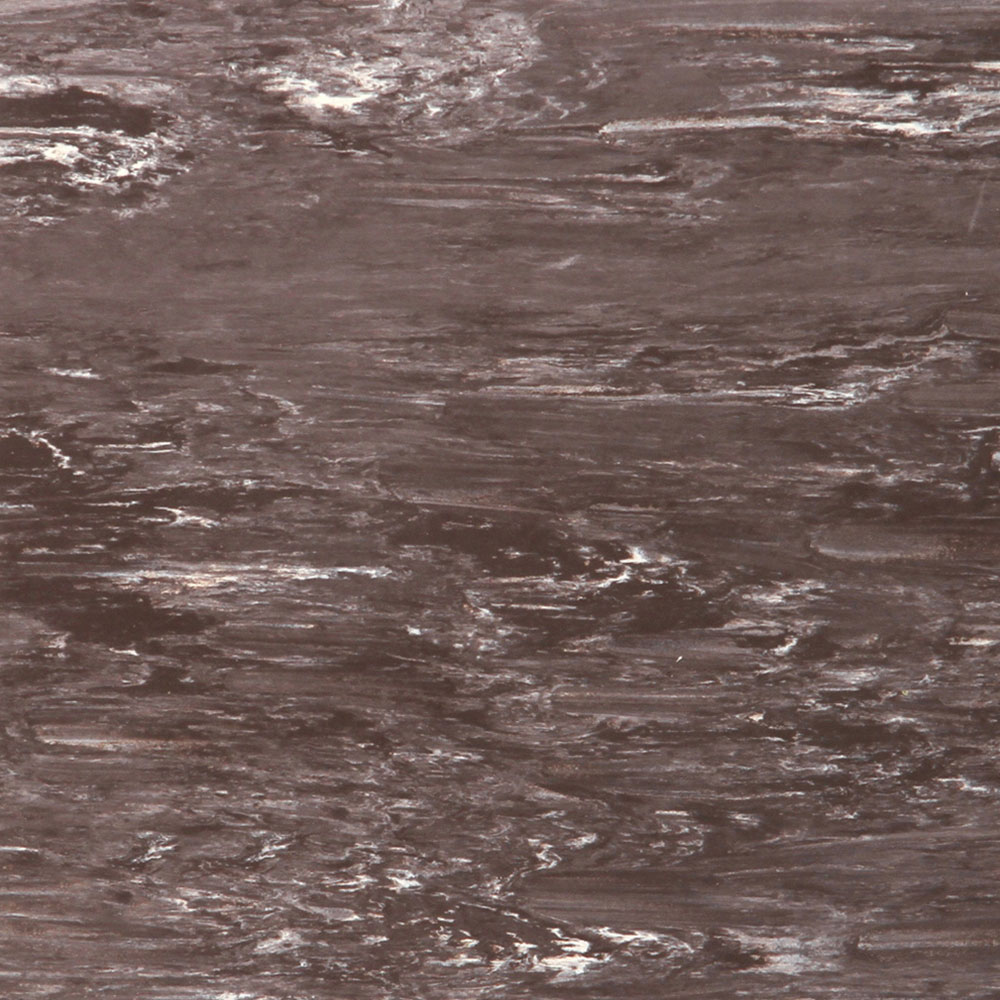 Roppe Smooth & Marbleized Rubber Tile 20 x 20 3.175mm (970 Smooth Design) Java
