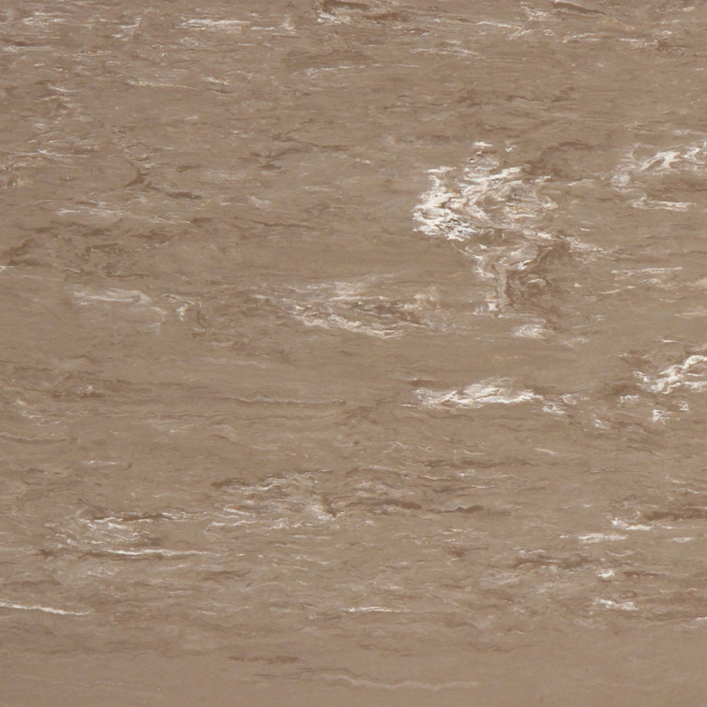 Roppe Smooth & Marbleized Rubber Tile 20 x 20 3.175mm (970 Smooth Design) Taupe