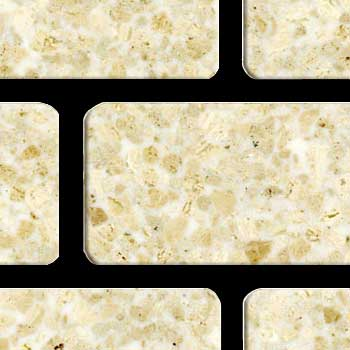Fritztile Brick 1/4 WT6200 Royal Cream Marble WT6234