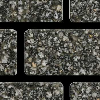 Fritztile Brick 1/4 WT6200 Salt and Pepper Granite WT6293
