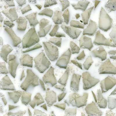 Fritztile Glass Tile GL6500 3/16 Thick Misty Gray GL6501A