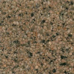 Fritztile Granite Tile GT3000 3/16 Thick Dynamite Orange GT3062