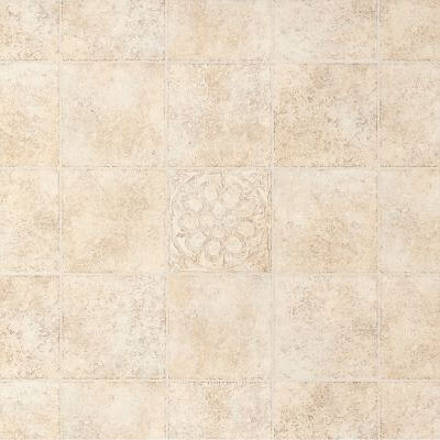 Armstrong Light Commercial - Commission Plus (Dropped) Floral Medallion Desert Beige 80650