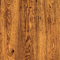 Armstrong Wood Rectangle 3 X 12 Antique Wood Rust Brown T1005