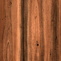 Armstrong Wood Rectangle 3 X 12 Walnut Mid Brown T1016